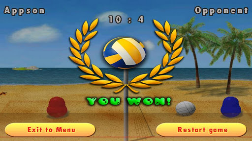 Blobby Volleyball game features