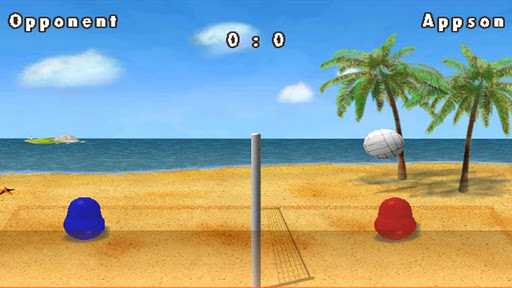 Graphics of Blobby Volleyball