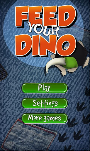 Feed your Dino Game