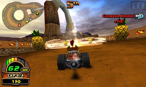 Tiki kart Android Graphics